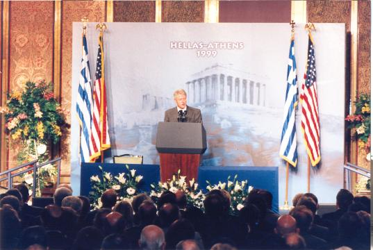 x William J. Clinton, President of the U.S.A.Visit