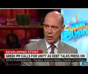 President of AmCham Simos Anastasopoulos on CNN